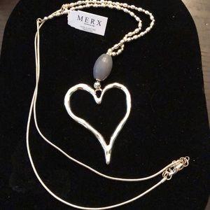 Merx Jewelry - Merx Heart ♥️ Necklace